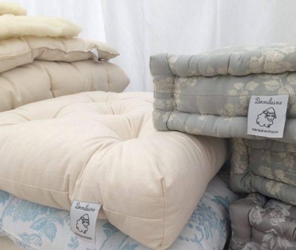 Confection d'un matelas en laine : une opération en quatre temps