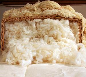 panier de laine cardée