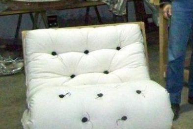 futon de laine