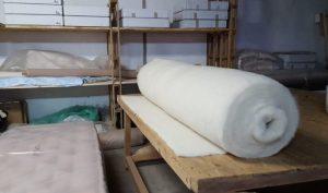 rouleau de nappage de laine