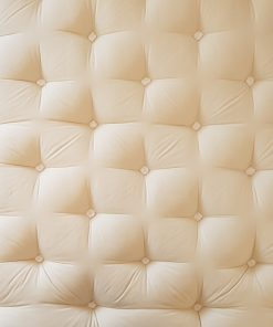surface du matelas en laine