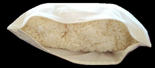 oreiller boule de laine