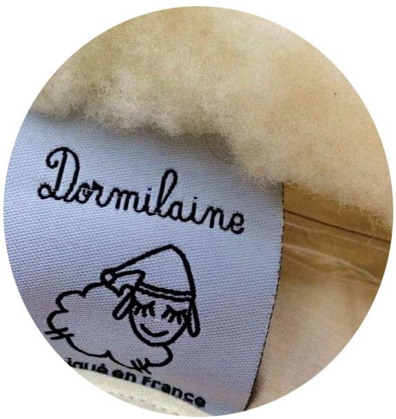 étiquette literie dormilaine