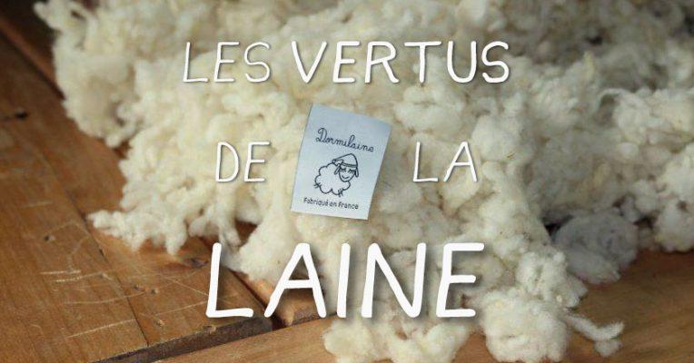 flocons de laine
