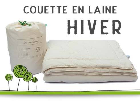 couette laine hiver