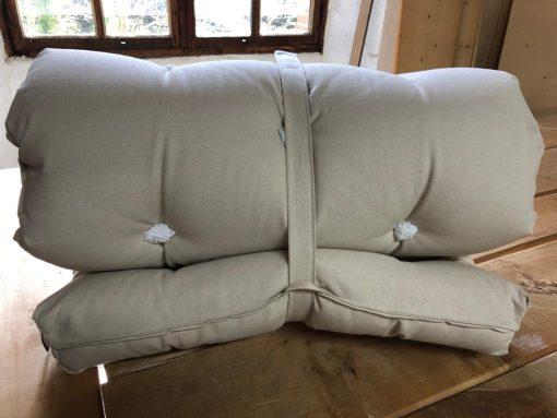 futon en laine bébé